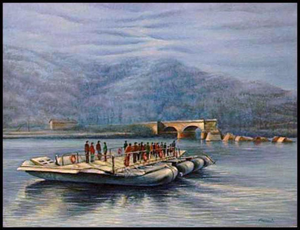 alluvione-del-1994-barcone-per-traversare-il-Po