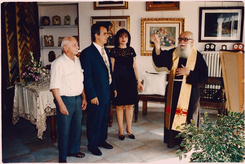 Benedizione inaugurazione da frate Marco
