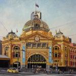 Flinders-Street-olio-su-tela-70X90