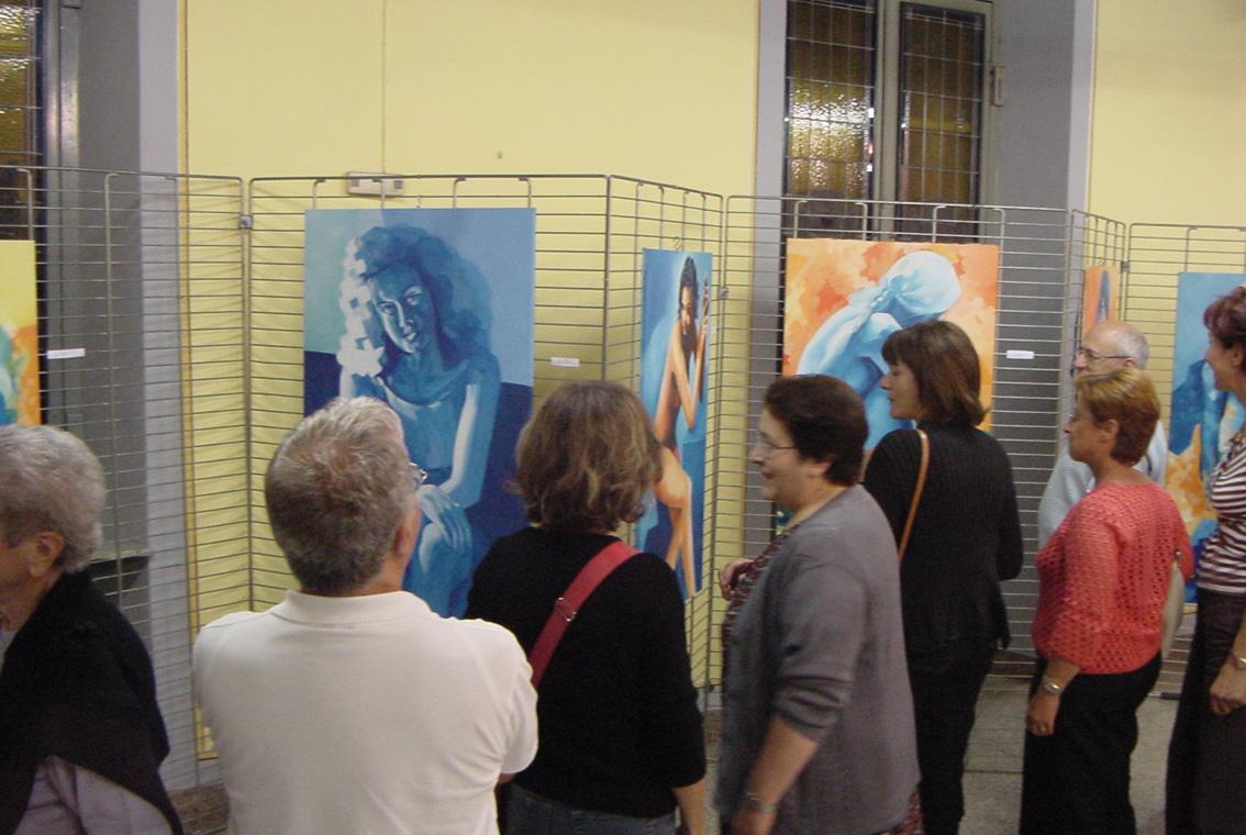Mostra Diana e Salvatore Pronestì a Verolengo 2007 (12)