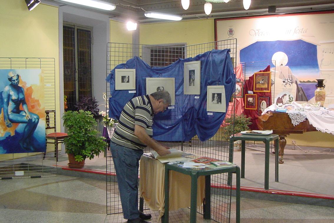 Mostra Diana e Salvatore Pronestì a Verolengo 2007 (14)