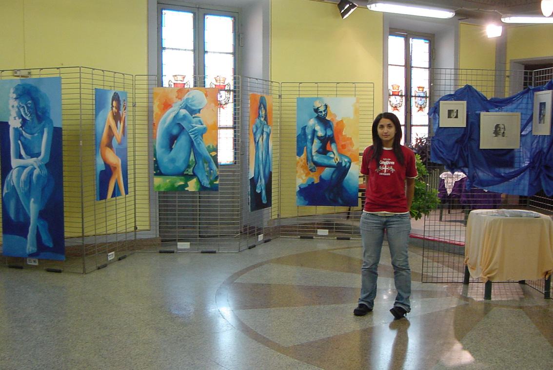 Mostra Diana e Salvatore Pronestì a Verolengo 2007 (16)