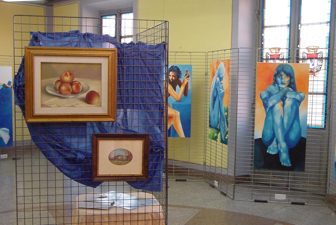 Mostra Diana e Salvatore Pronestì a Verolengo 2007 (2)