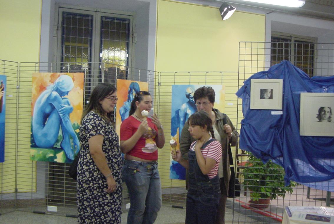Mostra Diana e Salvatore Pronestì a Verolengo 2007 (3)