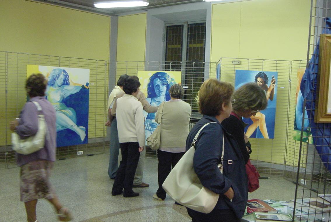 Mostra Diana e Salvatore Pronestì a Verolengo 2007 (5)