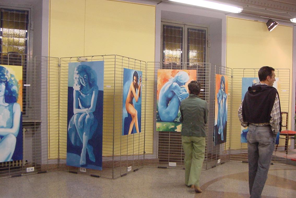 Mostra Diana e Salvatore Pronestì a Verolengo 2007 (7)
