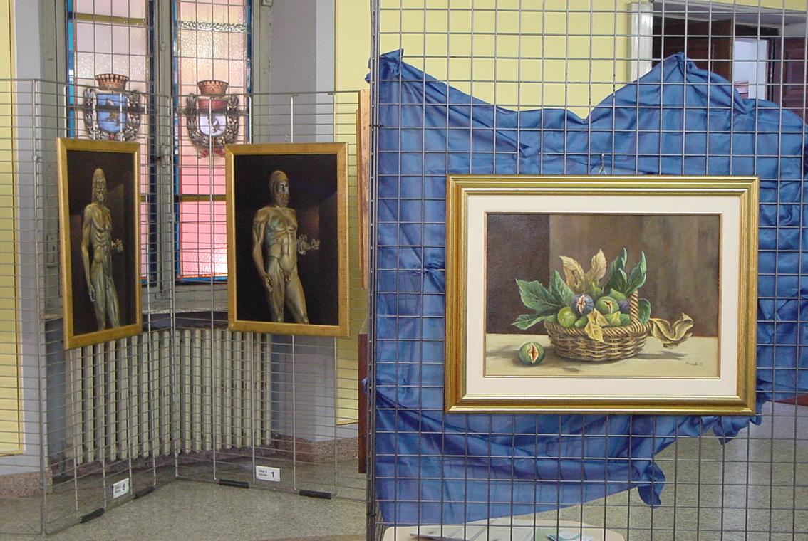 Mostra Diana e Salvatore Pronestì a Verolengo 2007 (8)
