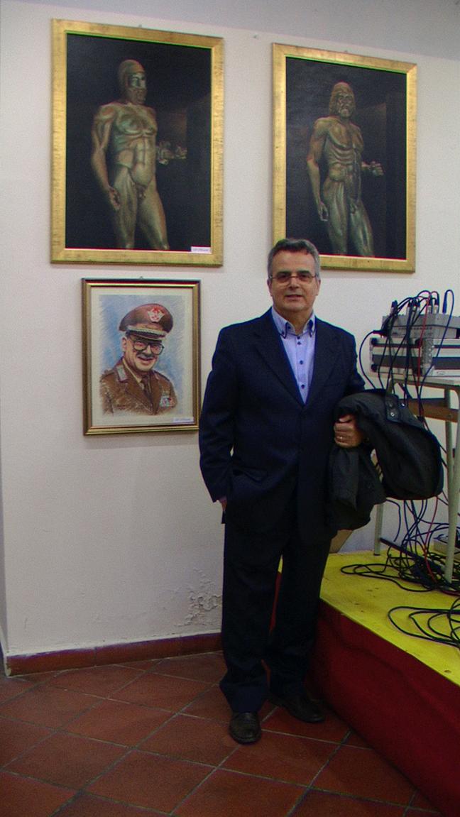 Mostra alla festa Lucana nella ex biblioteca Chivasso 2014 (2)