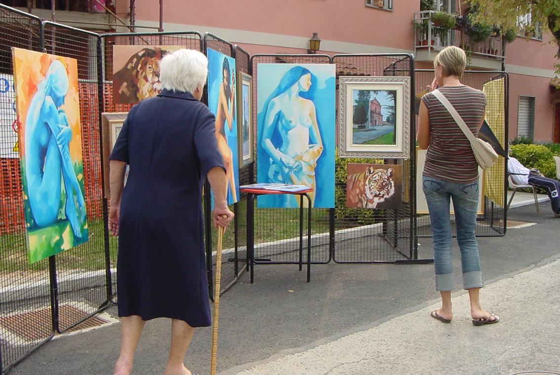 Mostra di Diana e Salvatore Pronestì a San Giusto (7)