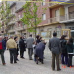 Mostra di Salvatore Pronestì nei Viale col Borgo Po (2)