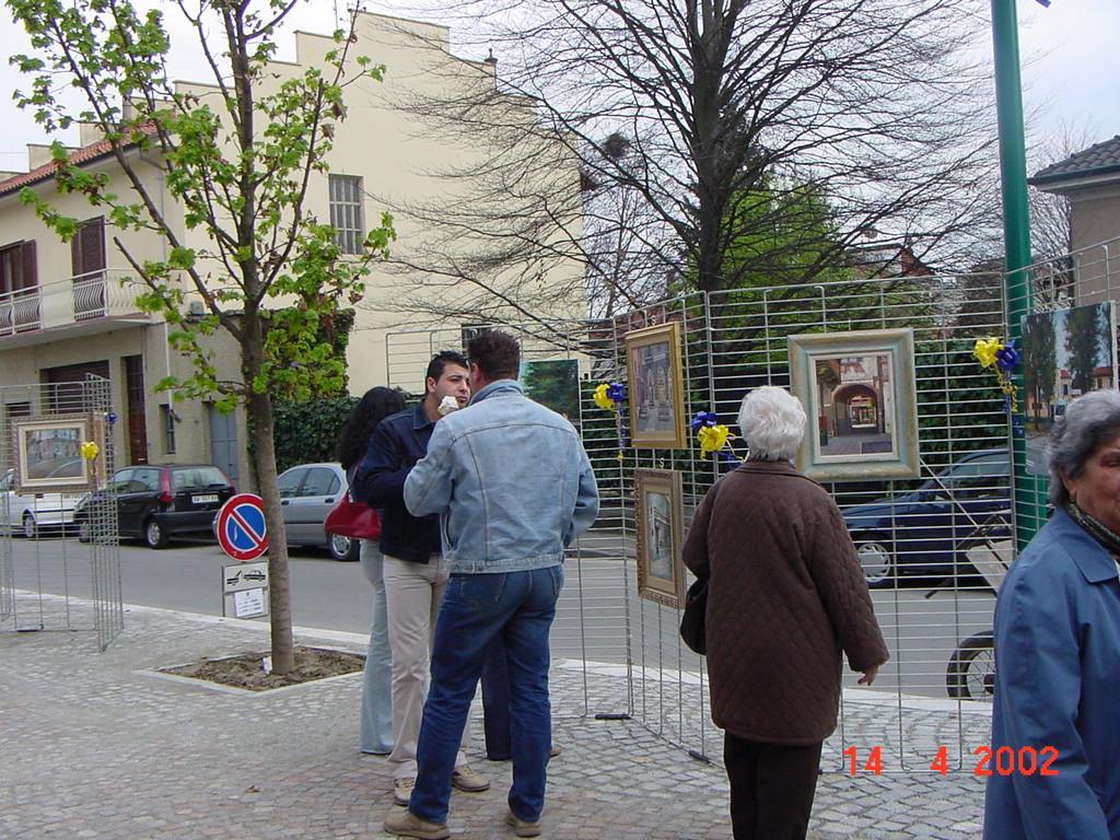 Mostra di Salvatore Pronestì nei Viale col Borgo Po (3)