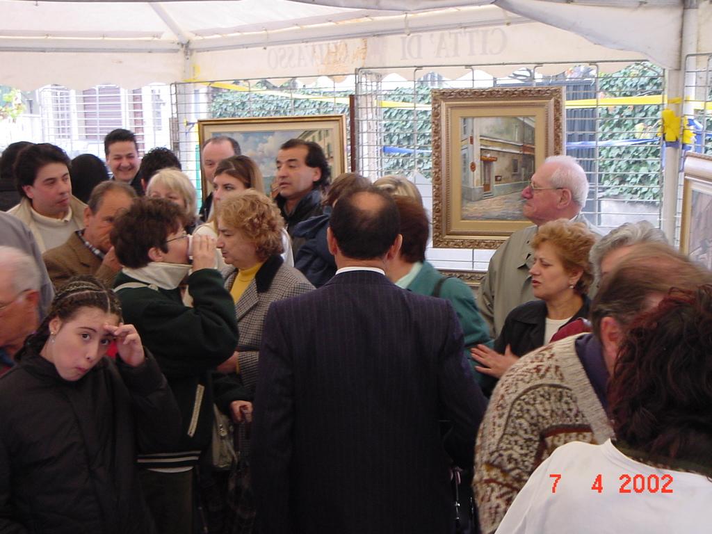 Mostra di Salvatore Pronestì nei Viale col Borgo Po (4)