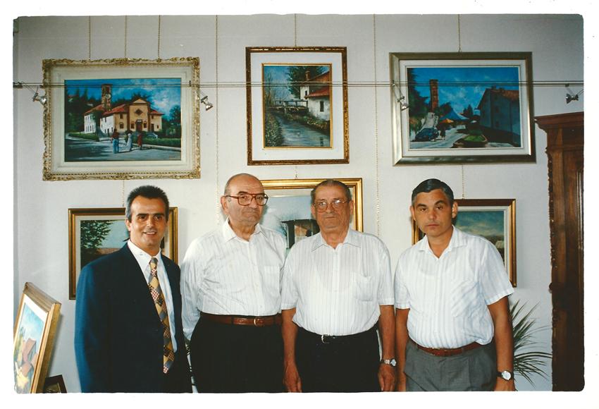 Pronesti con componenti Associazione Carabinieri