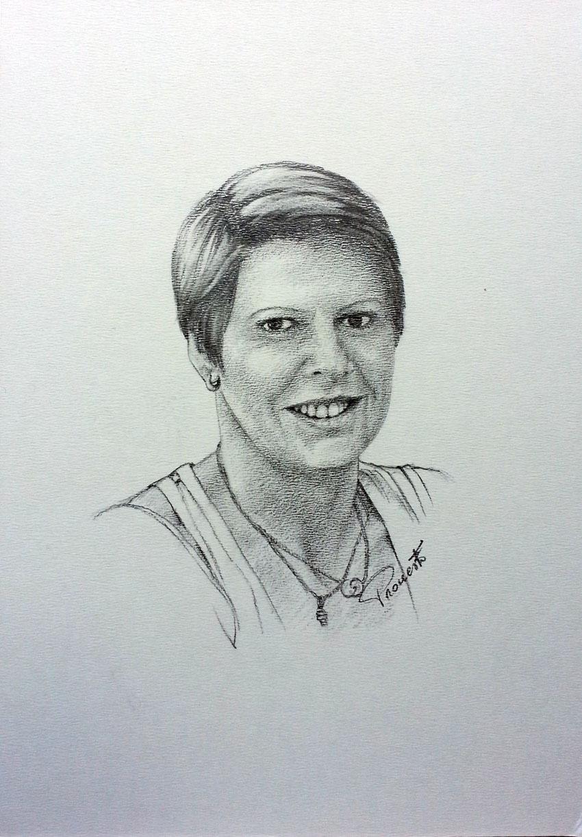 Ritratto a matita 24 x 34