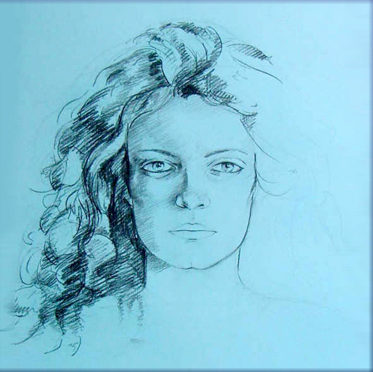 Simona-ritratto-a-matita