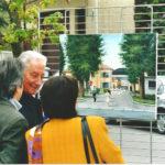 avv. Gribaudo con la moglie alla mostra di Pronesti 2