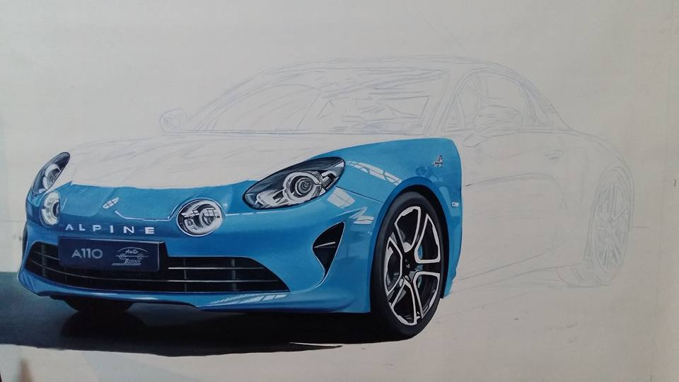 Renault Alpine work in progress 3