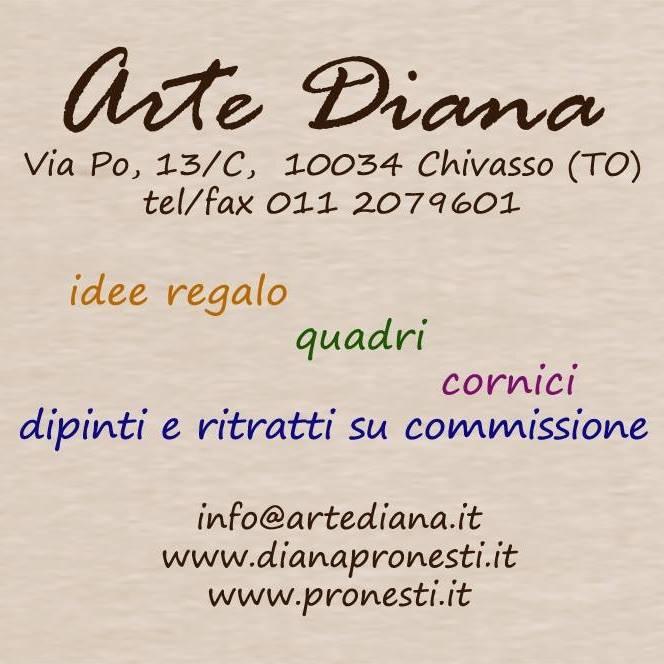 Cartello Arte Diana